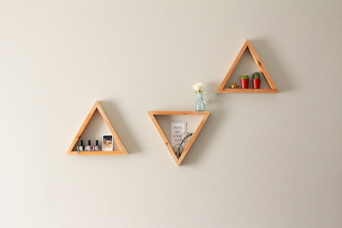 Triangular Shelvestriangle Shelveswall Shelvesgeometric # Muebles Wendy Manta