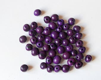 10 pearls plant, plant 8-10 mm color purple tinted color acai seeds