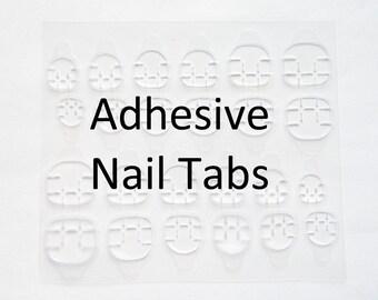 High Quality Adhesive Nail Tabs / Nail Sticker Tabs / Nail Glue / Nail Tabs / Nail Tape