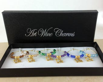 Wine Glass Charms, Dove wine charms, Wine Lover Gift, Wine Charms, Wine Gift, Birthday Gift. BFF Gift, Party Favors, Barware, Hostess gift