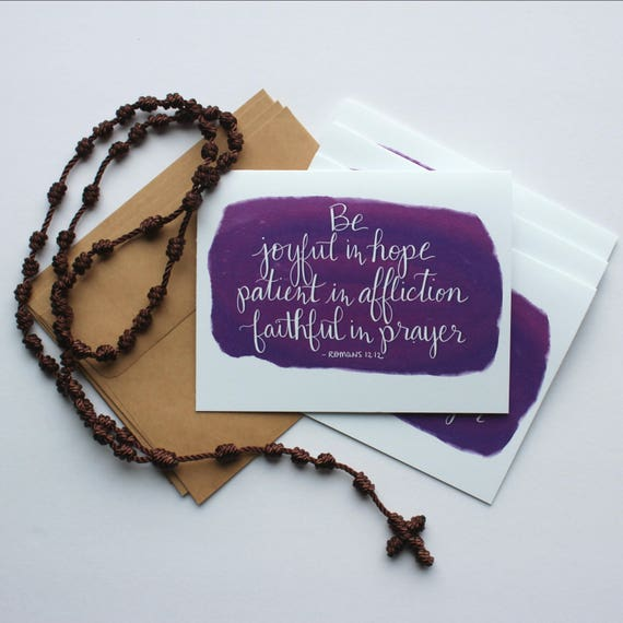 Annunciation Designs Encouragement Note Cards