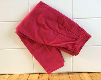 Awesome vintage red pants 32 fits 26 or small