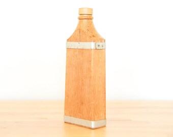 Vintage chêne bouteille • vieillissement petits lots de boissons alcoolisées • Scotch whisky Carafe • Primitive en bois bateau • vins et spiritueux • Mancave cadeau ami
