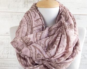 Scarf shawl gift ideas infinity scarf summer scarf fashion scarves women scarves coral scarf floral scarf women fashion accessories scarf