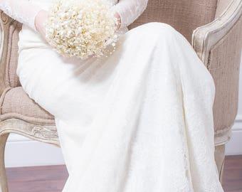 Wedding Bouquet - Pearl Flower & Bubble Pearl Bridal Bouquet - Ivory Bouquet, Pearl Bouquet, Fabulous Brooch Bouquet Alternative