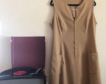 mod 60s maven plus size vintage dress - SZ 16/18/20