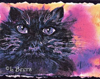 Big Eyes ... an art trading card