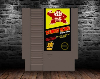 Donkey Kong Original Edition - Definitive Edition of A Barrell Jumping Classic - NES