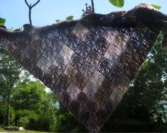 Ariana Modular Shawl - Knitting pattern - Instant Download PDF