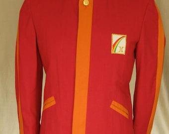 Space age 60's original unworn American band jacket