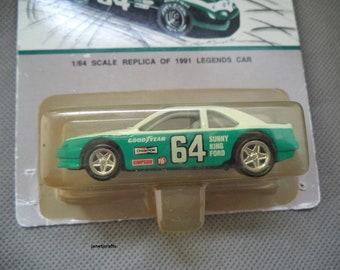 Elmo Langley race car , Hot wheels , Die cast hot wheels car , legends car , Number 84 race car ,Good year race car