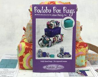 Box Bag pattern - Wholesale Bundle - FREE SHIPPING