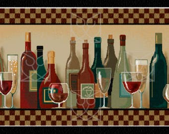 Chef's Cupboard, accent rug, wine glass, home décor, custom design