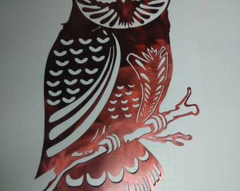 Candy red owl