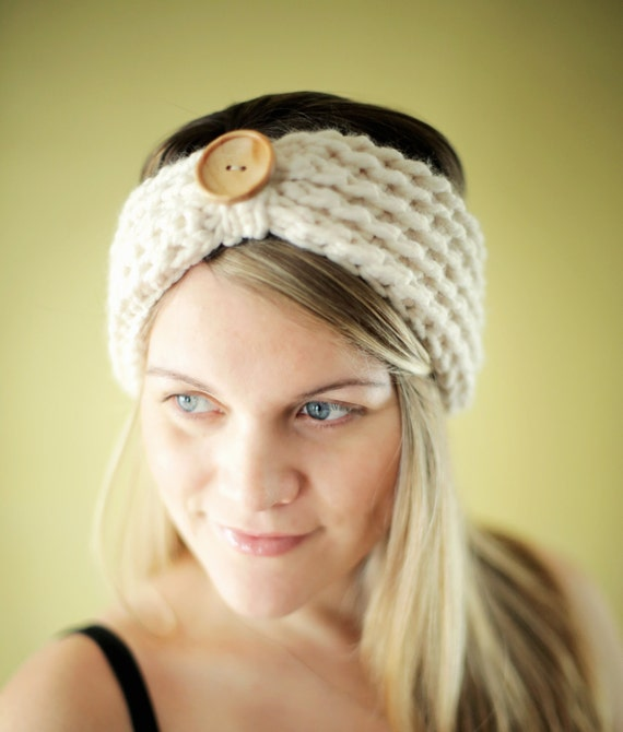 Chunky Headband Crochet Pattern The Baltimore 3 Sizes Adult