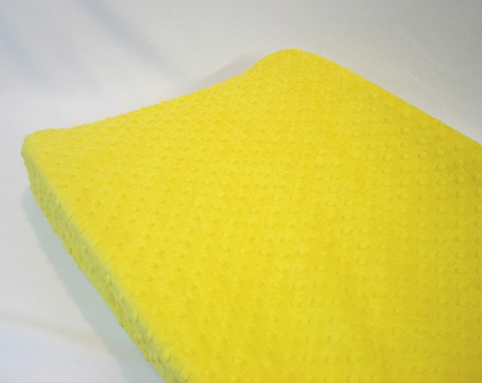 Yellow Lemon Changing Pad Cover