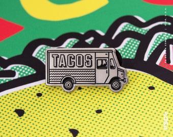 Taco Truck - Enamel Pin