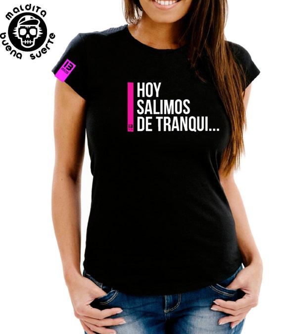 Girl t-shirt MBS today left tranqui