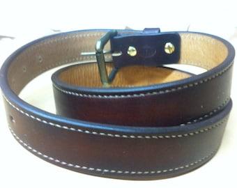 Nays Custom leather belt