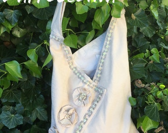 summer bag, lace couture