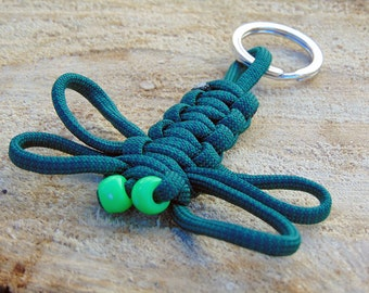 Paracord Dragonfly Key Chain - Made to Order