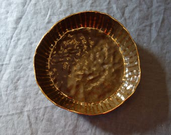 Low Salad/Pasta Bowl with Gold 2