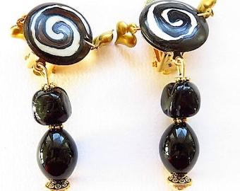 Earring clip earring 17678