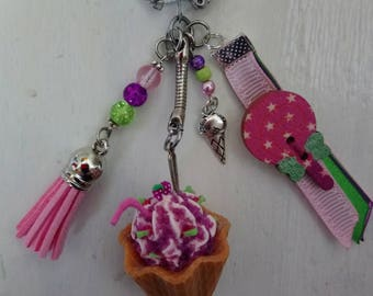 CHILDHOOD Keyring, bag charm
