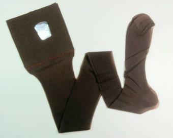 Vtg 60s Belle Sharmeer 1 pair of seamless nylon stockings hose in box size 10.5 to 11