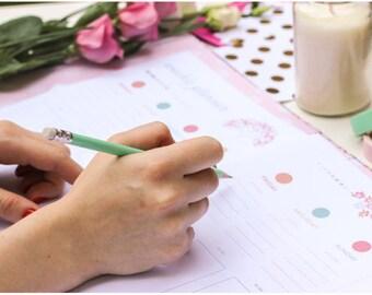 Home Management Binder PDF, Finance Binder, Budget Binder, Household Finances, Family Binder, Budget Planner, Big Happy Planner printables