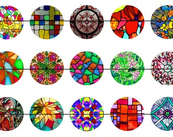 Stained Glass Pins,Stained Glass Magnets, Party Favors, Wedding Favors, Magnet Gift Sets, Pin Gift Sets, Fridge Magnets, Refrigerator Magnet