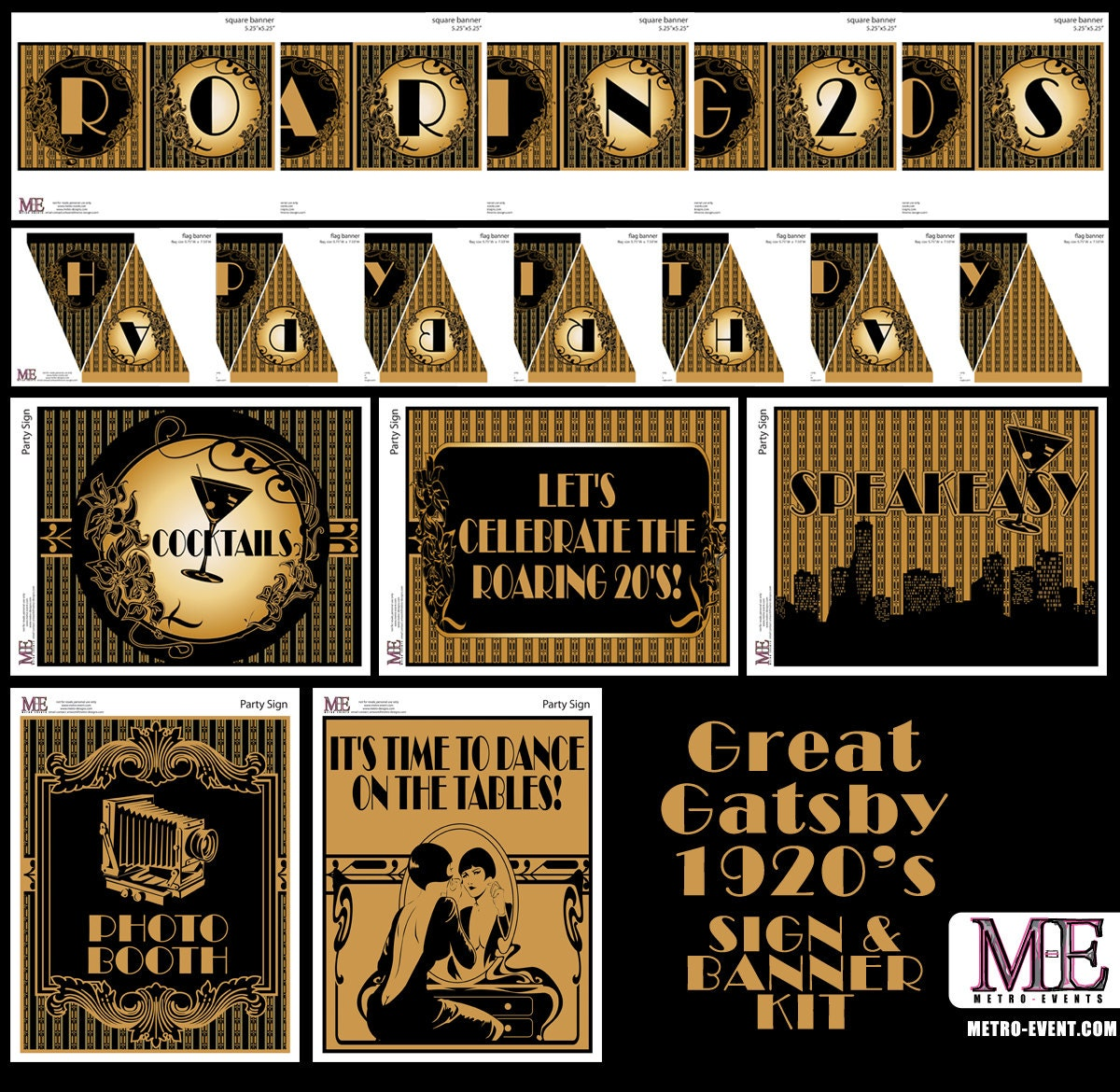 Dorable 1920s Themed Party Invitations Gift - Invitation Card Ideas ...