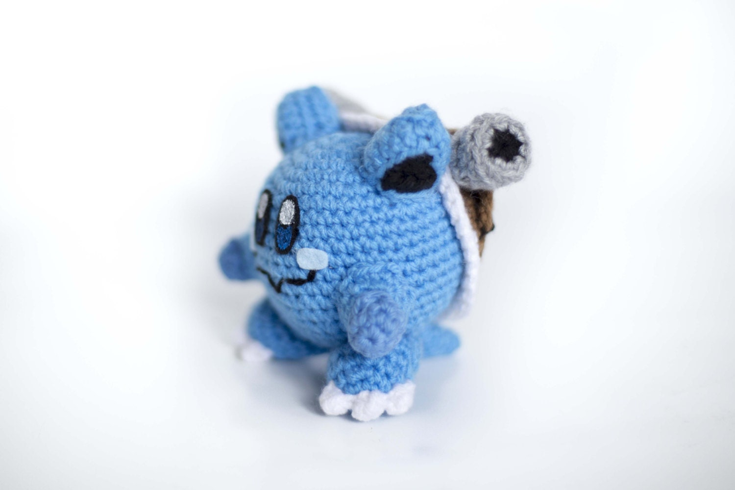 Crochet Blastoise Kirby Amigurumi Made to order