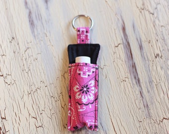 Lip Balm Holder - Key Ring