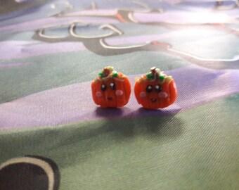 Cute Happy Pumpkins