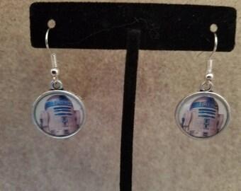 R2D2 Dangle Earrings