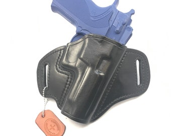 S & W 5906/5946 - Handcrafted Leather Pistol Holster
