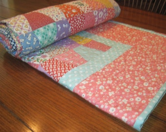 Tumbler quilt