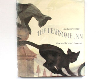 1967 The Fearsome Inn by Isaac Bashevis Singer Vintage Children's Book