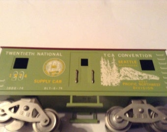 mccoy's wide guage train 20th national convention train seattle washington 1974