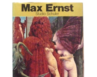Max Ernst Studio Schuler by Patrick Waldberg Dadaism German Language Book