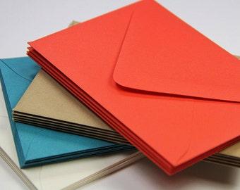 25 - A9 Matte Euro Flap Envelopes - 5 3/4 x 8 3/4