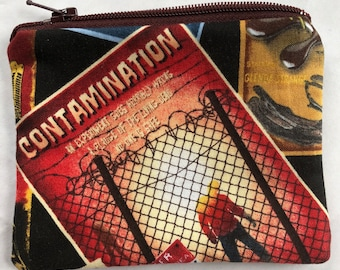 Contamination Coin Pouch: Horror Movie Posters.