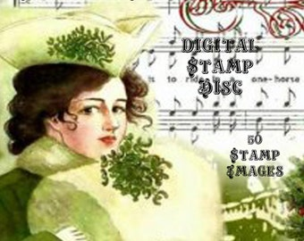 Winter Wonderland Digital Stamp Set