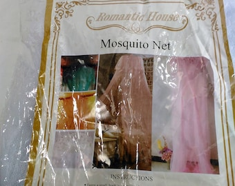 White Mosquito Net By Romantic House/100% Polyester (F)
