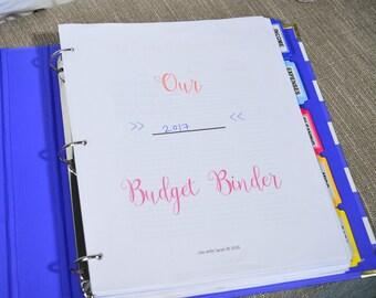 18 PAGES Budget Binder Printable, Instant Download Budget Planner, Finance Planner, Cash Envelope System