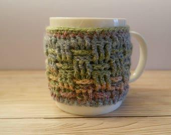 Crocheted Mug Cosy Kit Mug Hug Kit Diy Gift Craft Kits For Adults Crochet Gift For Crafters Mug Cosy Crochet Kit DIY Kit