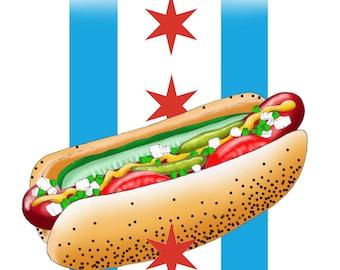 Chicago Hot Dog Birthday