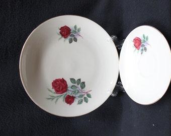 Bareuther Waldsassen Bavaria-Germany Set of 2 Plates