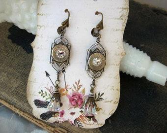 38 Special Earrings - Bullet Earrings - Dangle Earrings G431